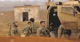 সিরিয়ায় তুর্কি অভিযানের মুখে মার্কিন সেনা প্রত্যাহার