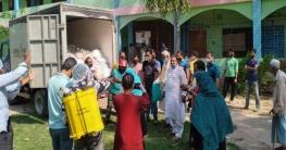 সাড়ে তিন হাজার পরিবারে বেঙ্গল স্যু'র খাদ্য সহায়তা