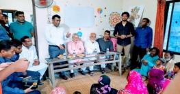 সুবিধাবঞ্চিত স্কুল প্রচেষ্টা পাঠশালায় অভিভাবক সমাবেশ