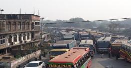 ঢাকা-চট্টগ্রাম মহাসড়কে ৪২ কিলোমিটার যানজট