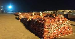 শাহজালাল বিমানবন্দরে পৌঁছেছে পেঁয়াজবাহী কার্গো