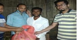 লক্ষ্মীপুরের 'লক্কুরা গ্রুপ' এর ত্রাণ পেল কর্মহীনরা