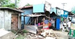 রায়পুরে জেলা পরিষদের যাত্রী ছাউনি দখল, যাত্রীদের দূর্ভোগ